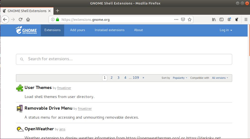 Enable CSD in Firefox