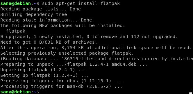 Install Flatpak