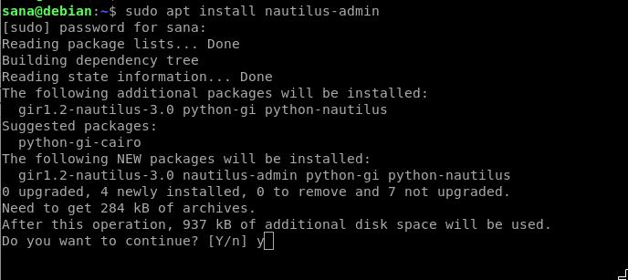 Install Nautilus Admin