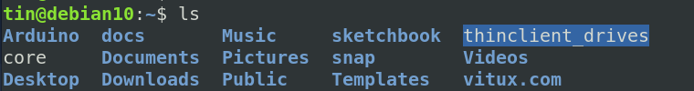 list files