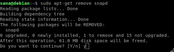 Remove snapd