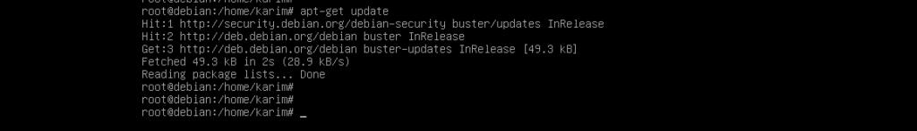 Update Debian repository