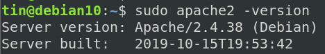 Verify Apache installtion