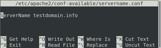 Set a server name