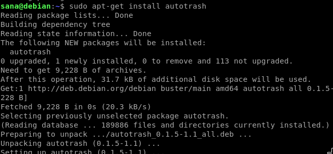 Install the Autotrash CLI