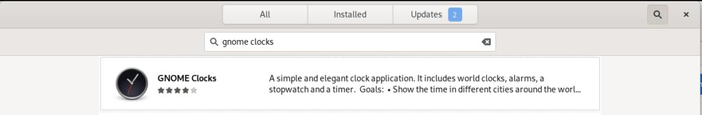 GNOME Clocks