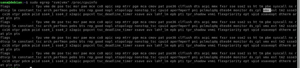 Check CPU Info