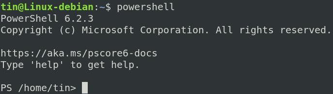 Start PowerShell
