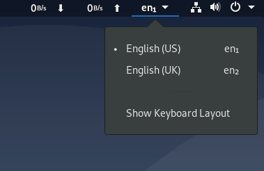 Show Keyboard Layout