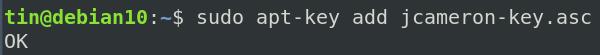 Add repository key