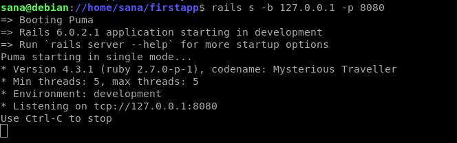 Test Rails app