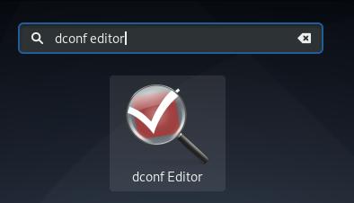 Dconf Editor