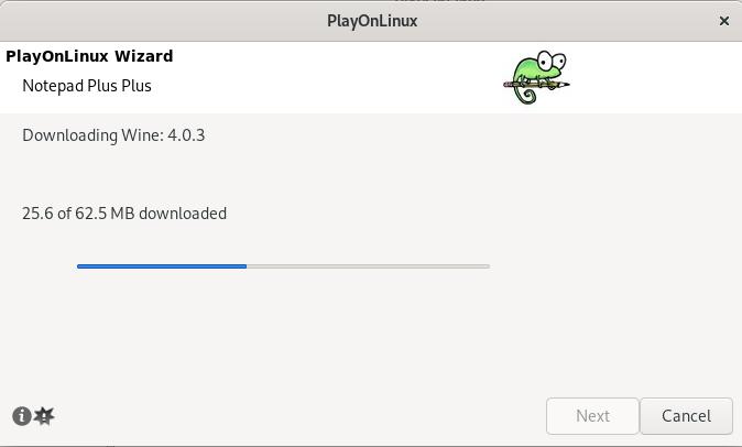 Downloading WineHQ