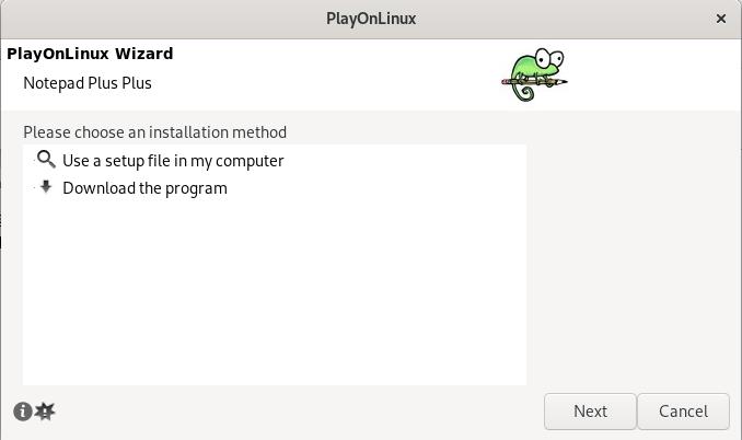 Installing Notepad++