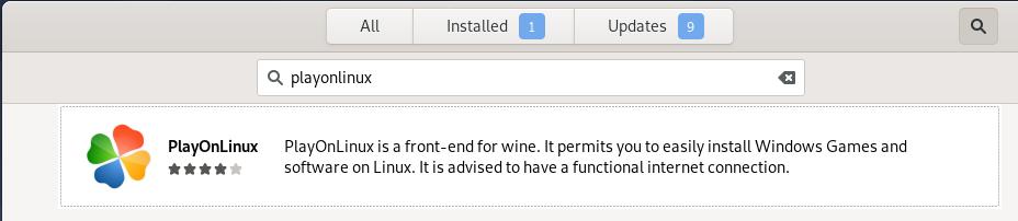 Debian PlayOnLinux package