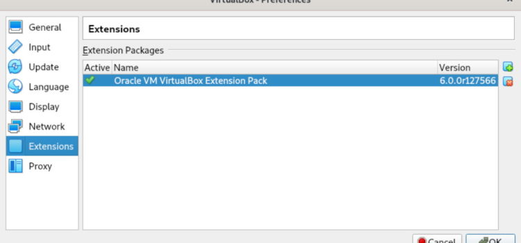 VirtualBox on Debian