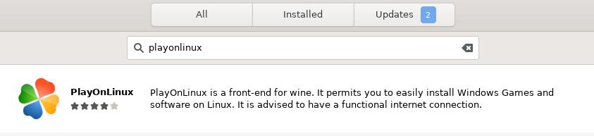 PlayOnLinux Debian package