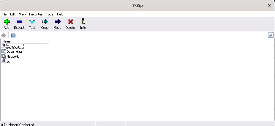 7zip on Linux