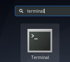 Debian terminal