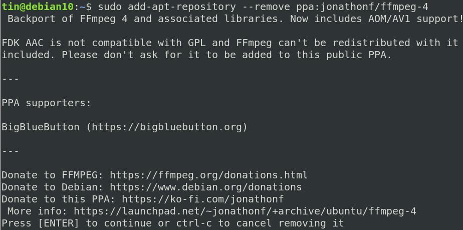 Remove PPA Repository