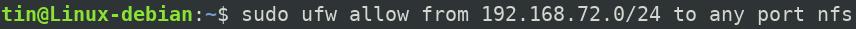 Configure firewall