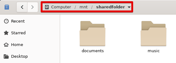 Mounted share in File explorer