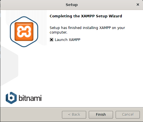 Launch XAMPP