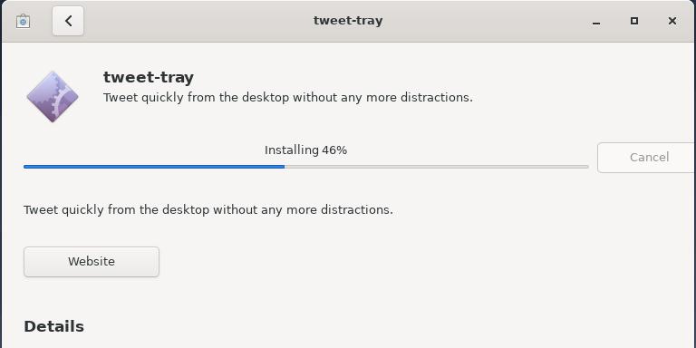 Installing Tweet-Tray