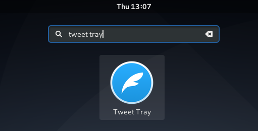 Tweet Tray Icon