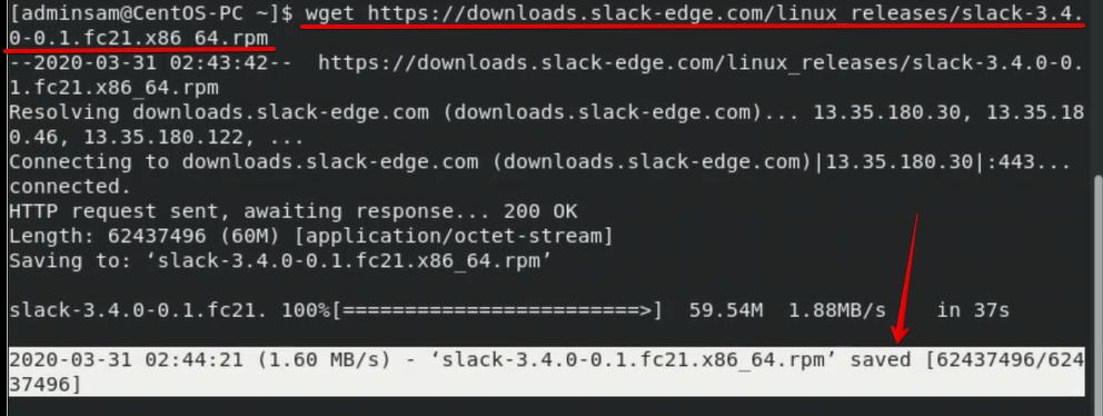 Download slack for Linux