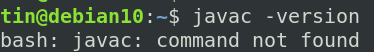 JDK Not installed