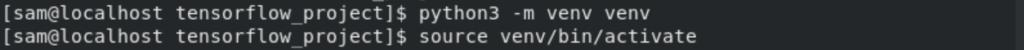 Create virtual environment in Python