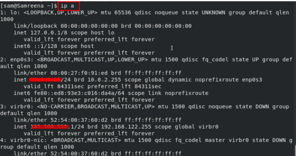 Test Nginx installation