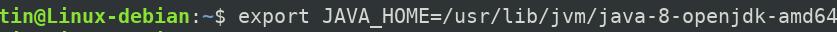 Set JAVA_HOME