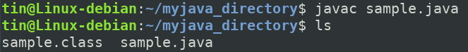 Compile Java program