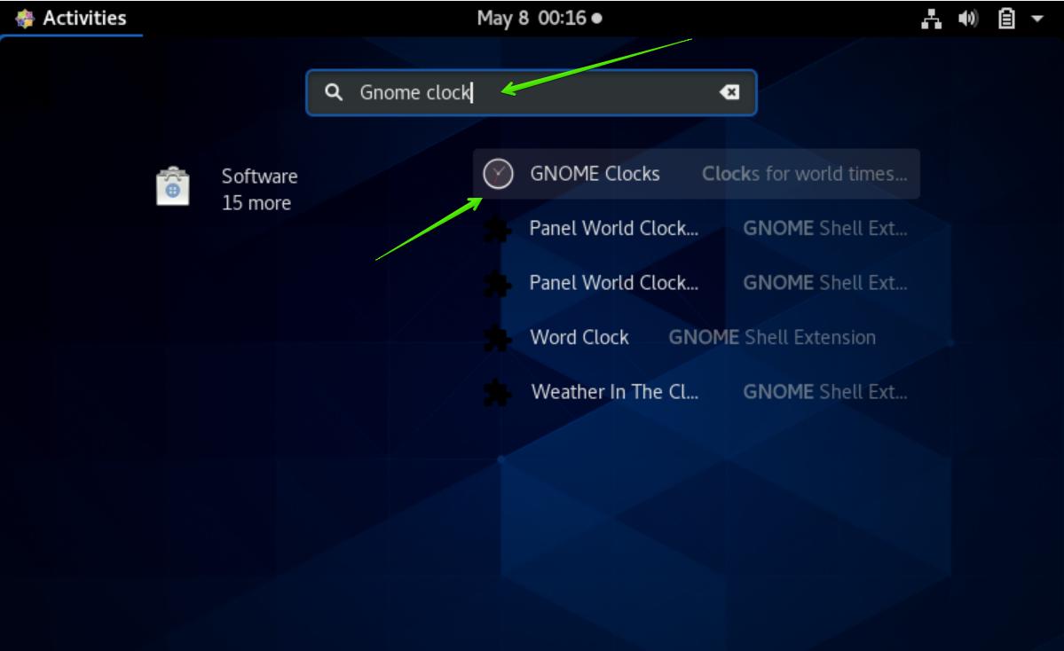 GNOME Clock