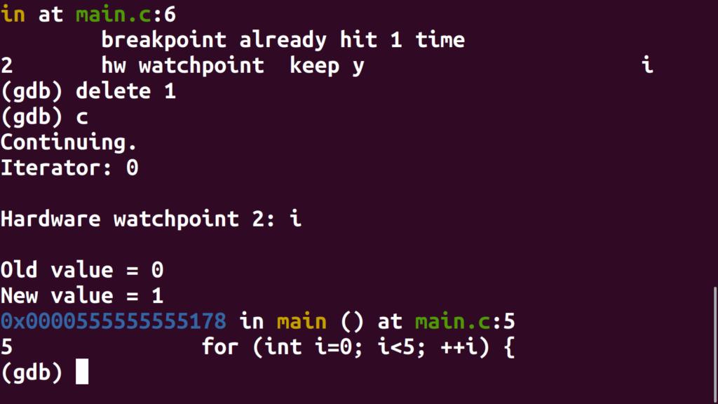 Continue debugging