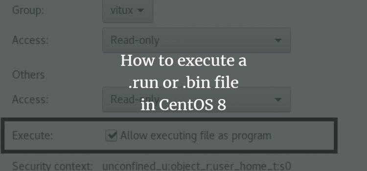 CemtOS Execute Files