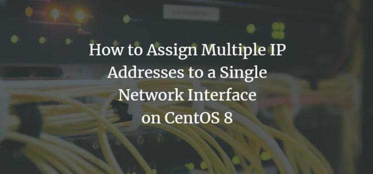 CentOS Network Configuration