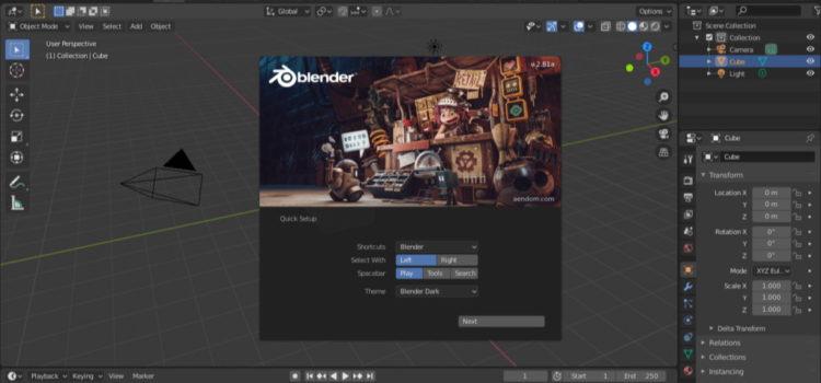 Debian Blender 3D