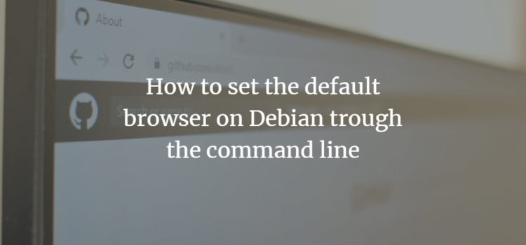 Debian Default Browser