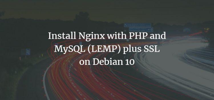 Debian 10 LEMP