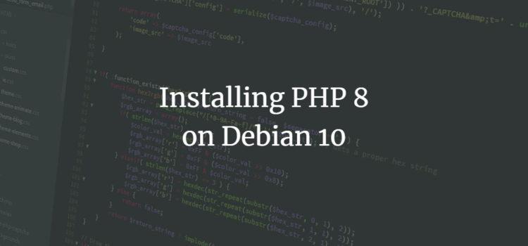 Debian PHP 8