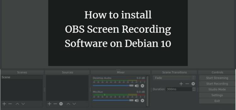 Debian Screen Recording