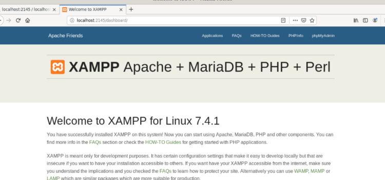 How to Install XAMPP on Debian 10