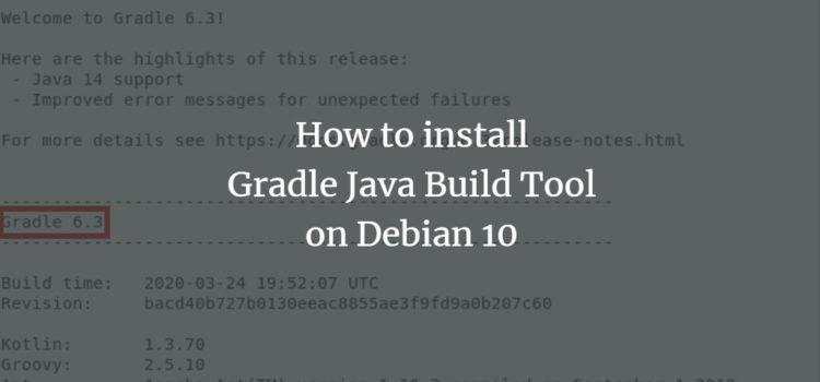 Debian Gradle Installation
