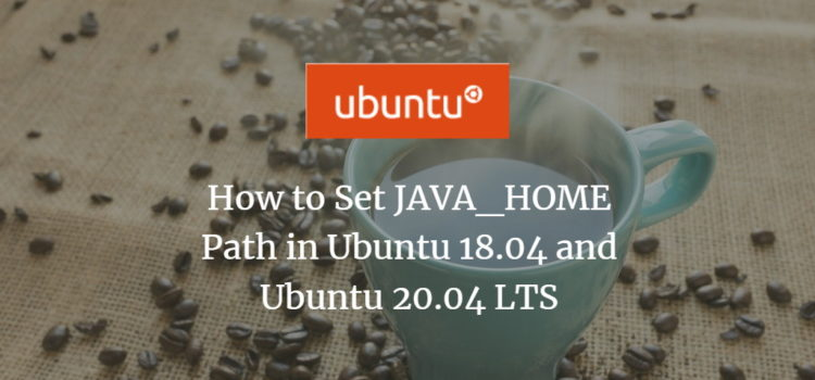 Ubuntu JAVA Home Path