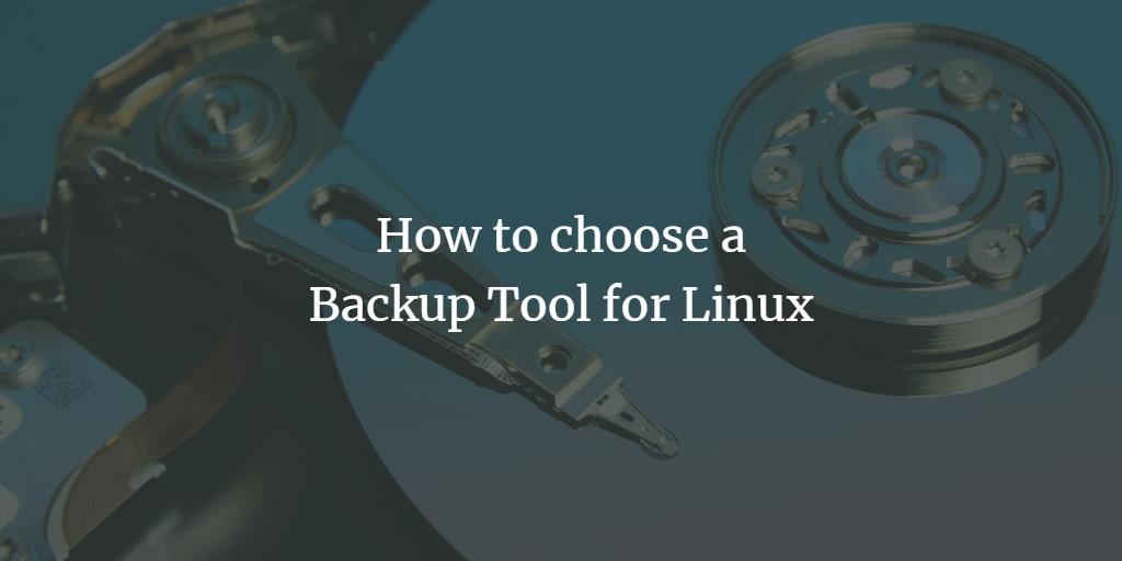 Linux Backup Tool