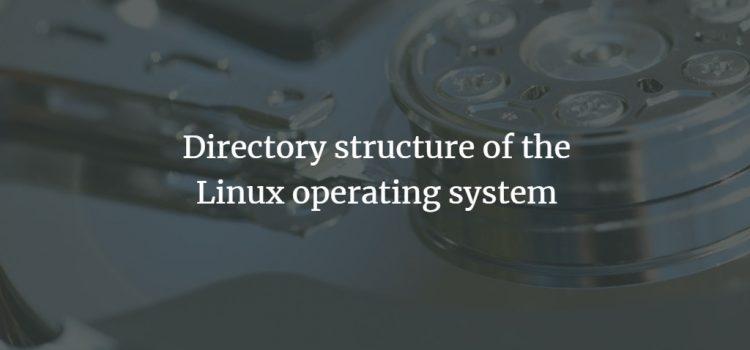 Linux / UNIX directory structure