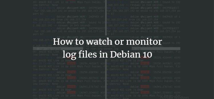 Log File Monitoring